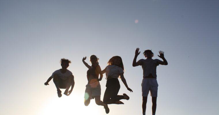 Żeby latać musisz skoczyć